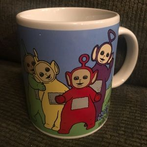 Teletubbies Mug 1996 Coffee Cup BBC Worldwide